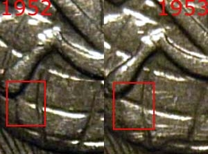 15 копеек 1953, сравнение шт.3.21 и шт.3.21*