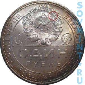 1 рубль 1924, шт.1.1