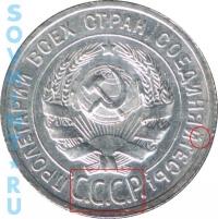 20 копеек 1924, шт.1.1