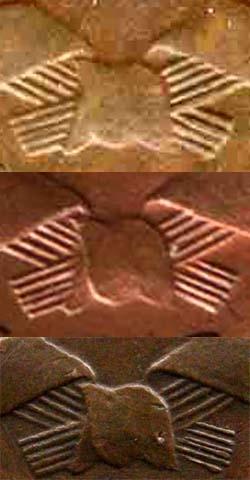 3 копейки 1924, шт.1.2, варианты по числу колосьев в правом срезе