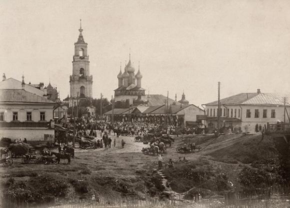 фотография города Нерехта, дореволюционная