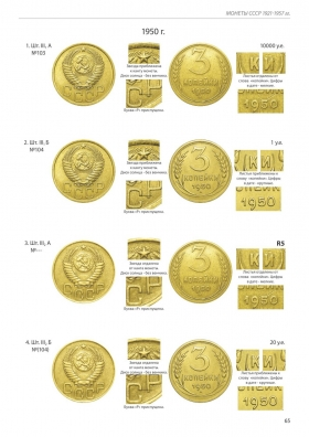 Д. Тилижинский «Монеты СССР 1921-1957 гг.» стр.65