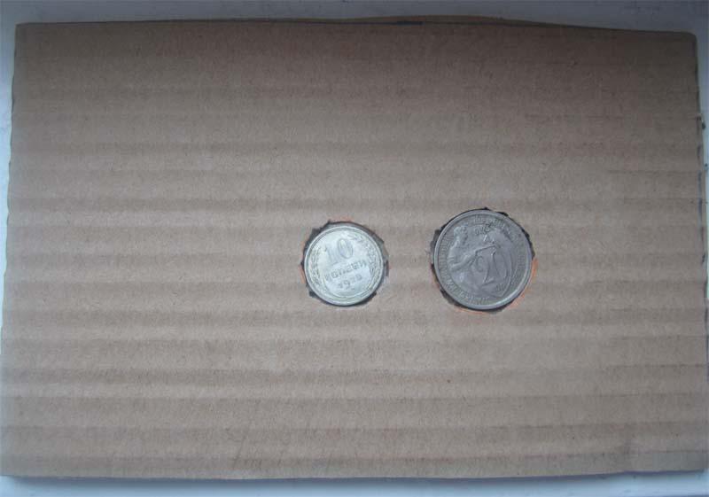 Как упаковать монеты в подарок 85