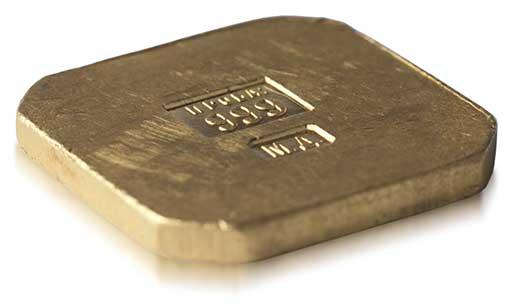 Золотой слиток. Монетный двор. 1924.