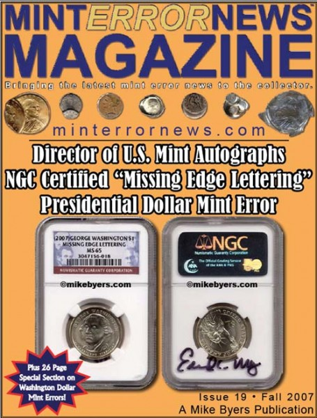 Mint Error News Magazine issue 19