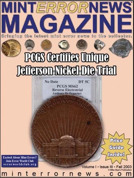 Mint Error News Magazine issue 3