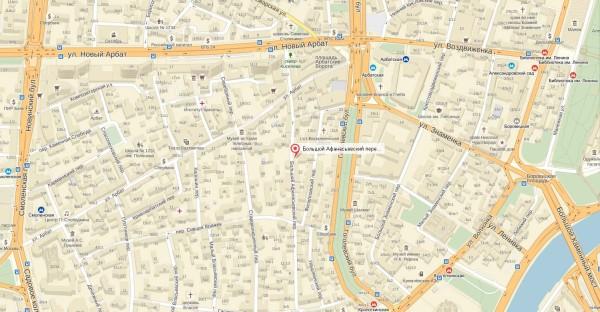 Международный музей нумизматики, г.Москва, Большой Афанасьевский переулок, 24 (на карте)