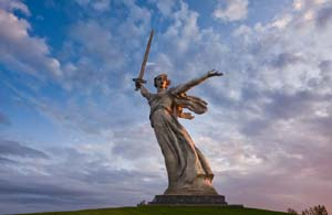Волгоград. Скульптура «Родина-мать зовет!»